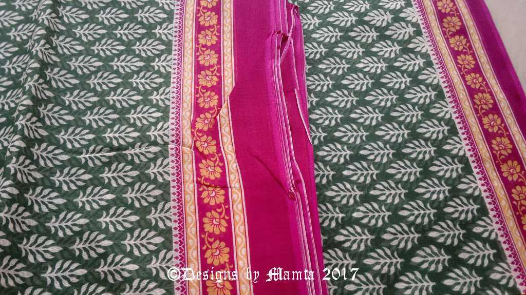 Indian Floral Print Fabric
