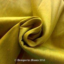 Lime Green Art Silk Fabric