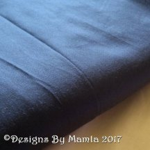 Midnight Blue Indian Silk Fabric