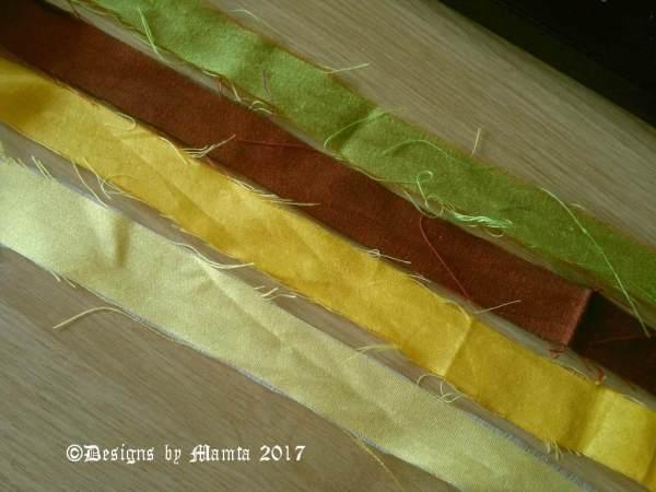 Multicolored Ribbon Yarn