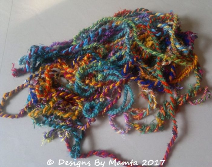 Recycled Sari Silk Twine