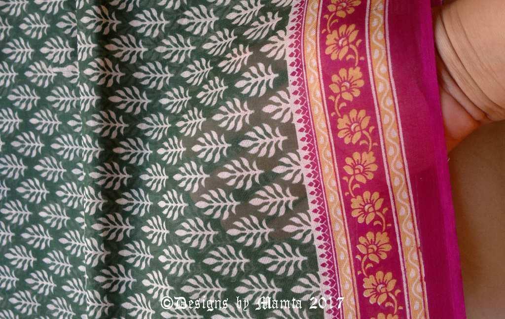 Saree Fabric By The Yard