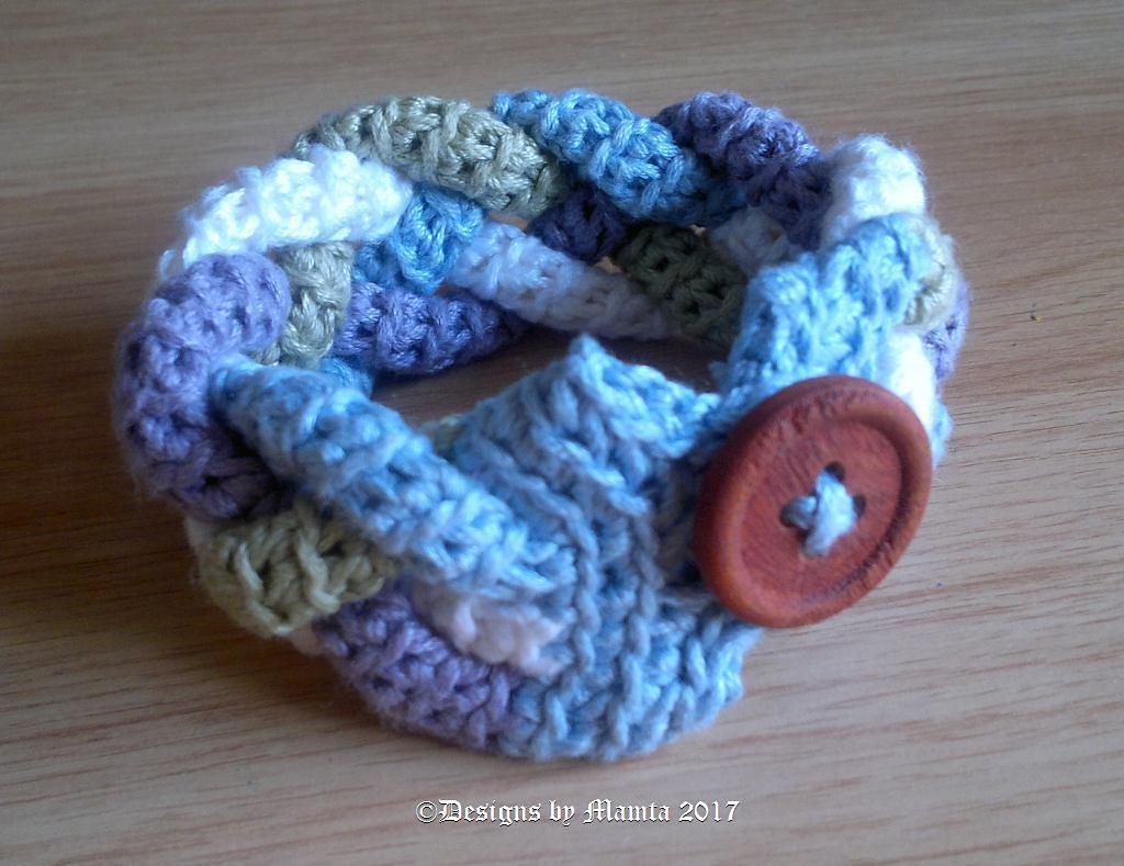 Four braided cuff crochet pattern unique jewelry patterns for women unique crochet patterns bankloansurffo Choice Image