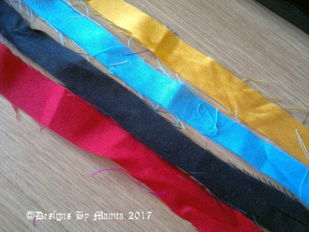 Upcycled Silk Ribbon Yarn