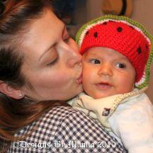 Watermelon Hat Crochet Pattern