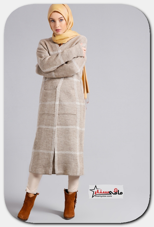 ملابس محجبات تركية شتوية 2020 مامي ستار