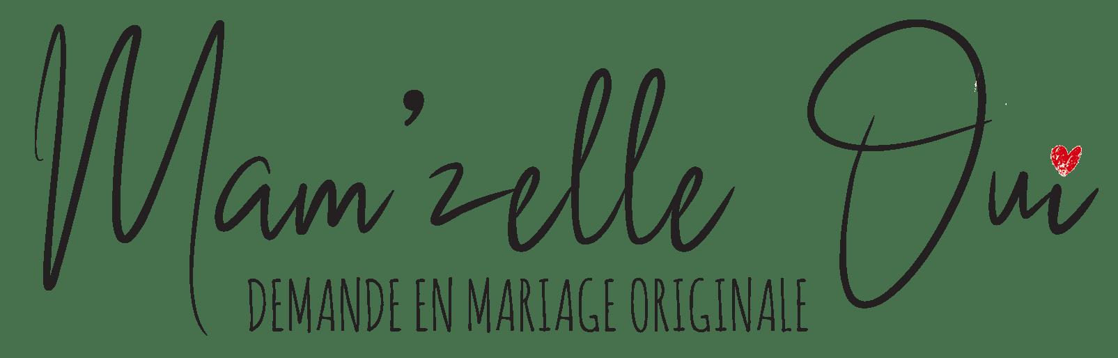Mam'zelle Oui La toute première box de demande en mariage originale