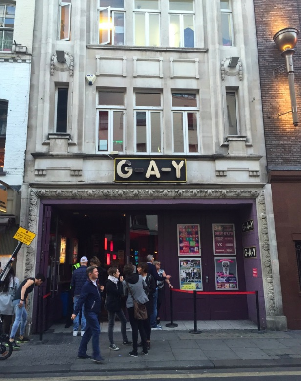 G-A-Y gay club in London, ManAboutWorld gay travel magazine