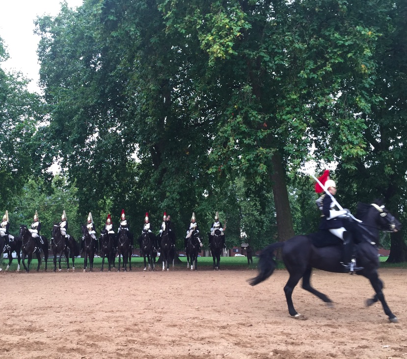 Mounted soldiers London, ManAboutWorldl gay travel magazine