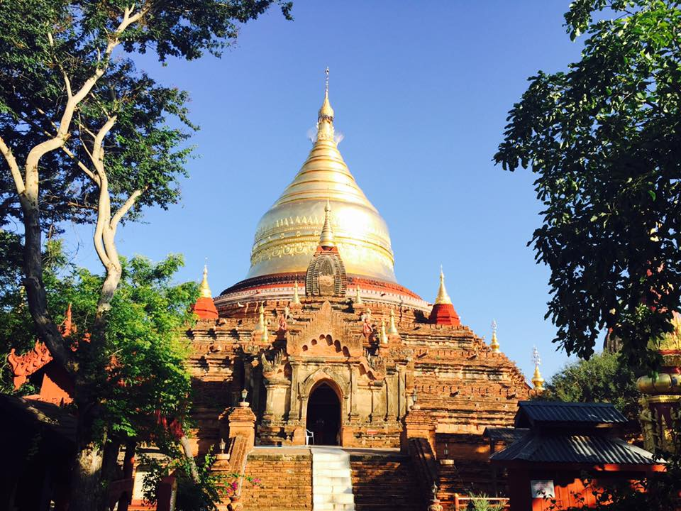 Myanmar temple as seen in ManAboutWorld gay travel magazine by Kenny Porpora