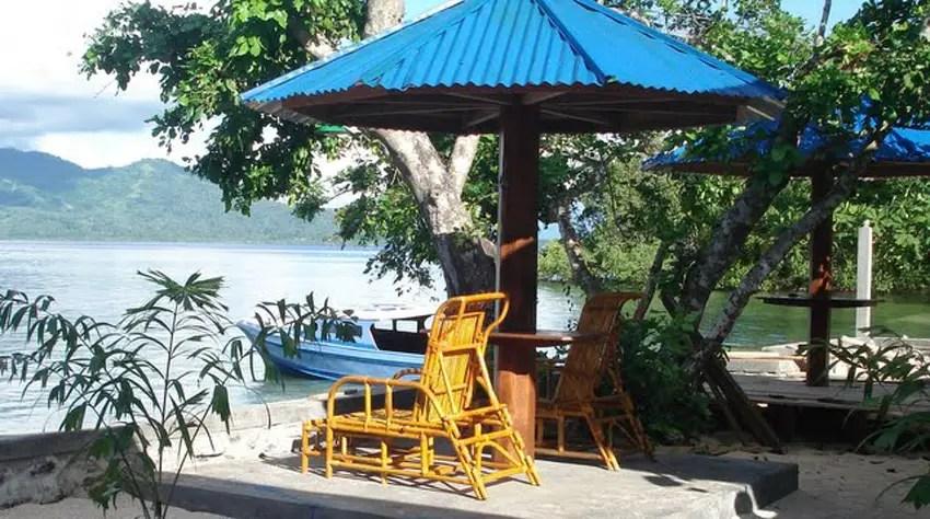 Bunaken Beach Resort, penginapan murah di bunaken