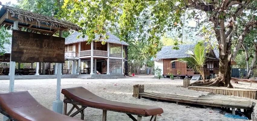 Jonaths Cottage, hotel budget di bunaken