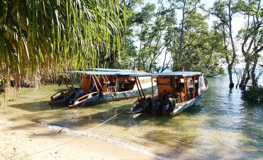 Tarif ke Bunaken pakai kapal cepat