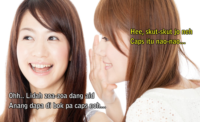 bahasa gaul anak manado
