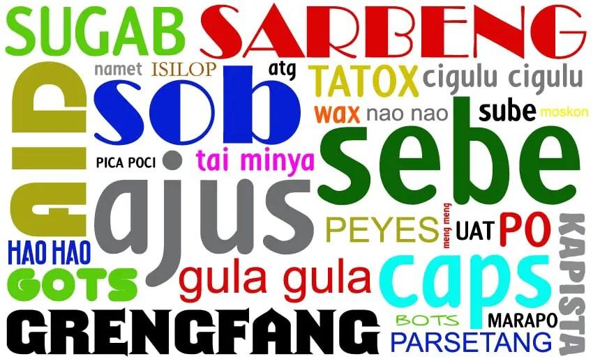 bahasa manado gaul 90an