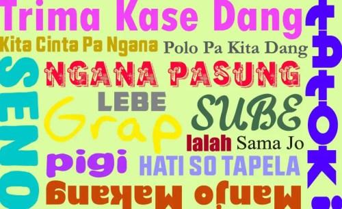Bahasa Manado Paling Dicari Sepanjang 2017