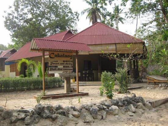 cakalang bunaken dive resort