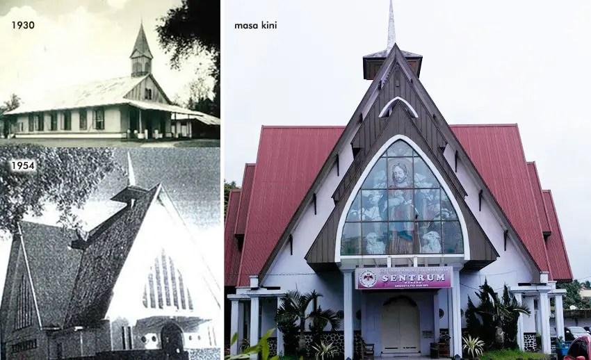 Gereja Tertua di Manado, Situs Sejarah-Religi