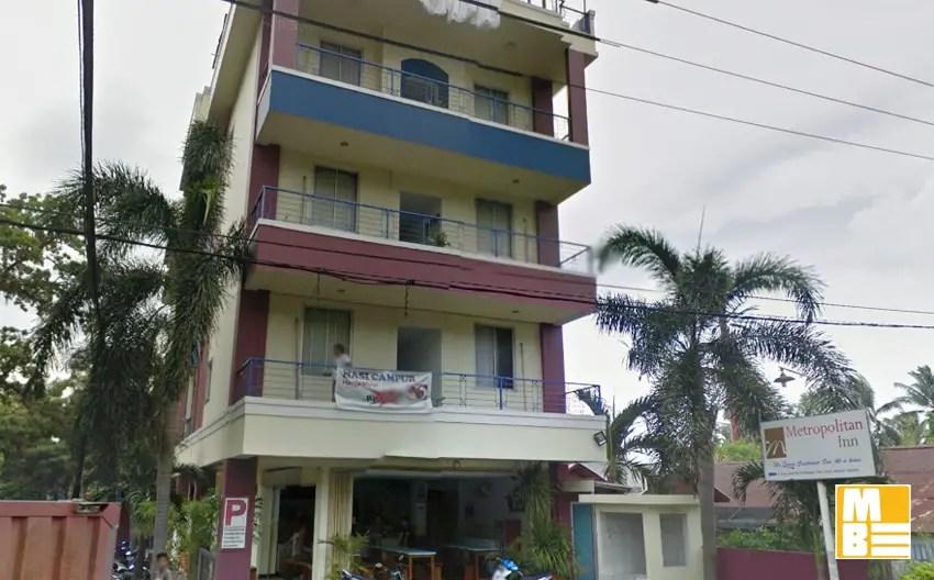 hotel metropolitan inn manado, tak lebih dari 250 ribu per malam