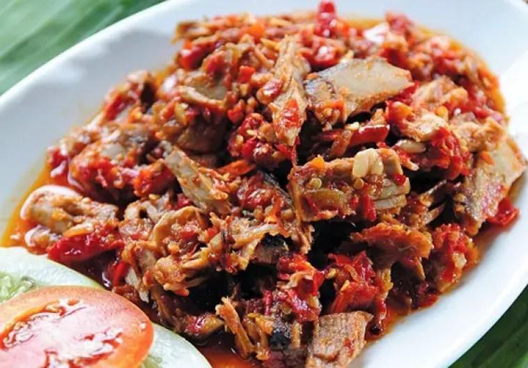ikan cakalang fufu saus