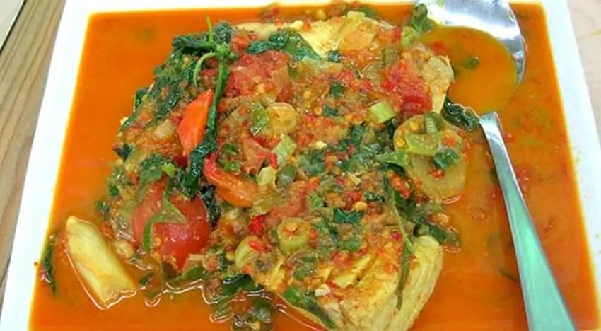 ikan woku belangan manado