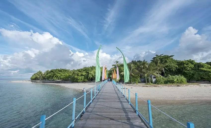 jalan dermaga pulau gangga