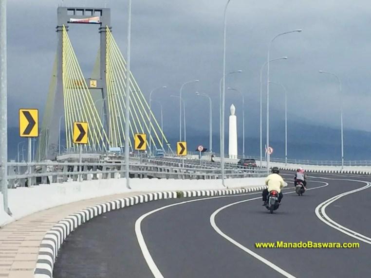 jembatan soekarno, termegah di Manado