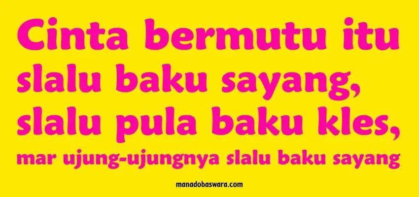 kata cinta dalam bahasa manado dan artinya_oke