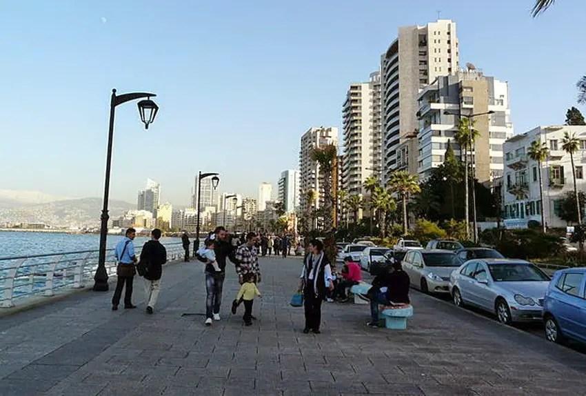 manado bak pantai beirut libanon ramah pedistrian