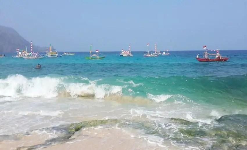 manado dapat menjadi pintu masuk ke pantai pall marinsow (by kompas.com)