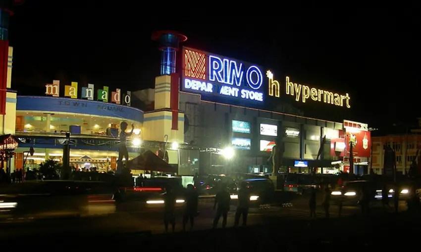 manado town square malam hari