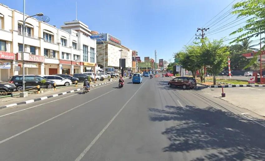 nama jalan di kota manado