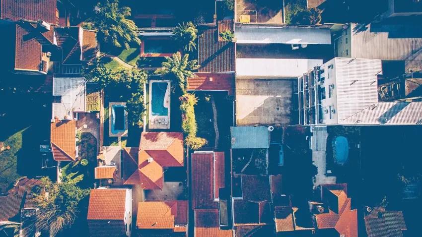 perumahan-tampak-dari-atas