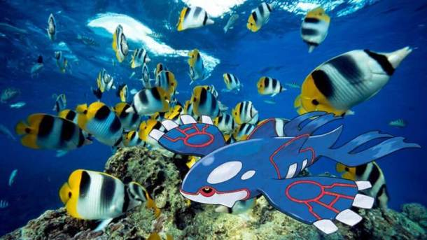 pokemon legendaris kyogre di bunaken