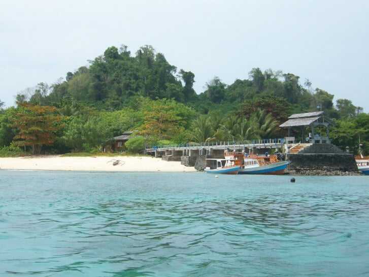 pulau gangga di sulut - 2