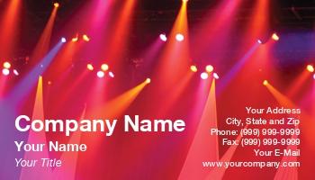 lighting business cards