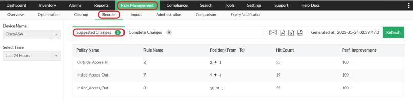 Firewall Rule Analyzer - ManageEngine Firewall Analyzer