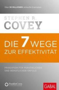 """Platz 1 der Top 10  """"Die 7 Wege zur Effektivität"""""""