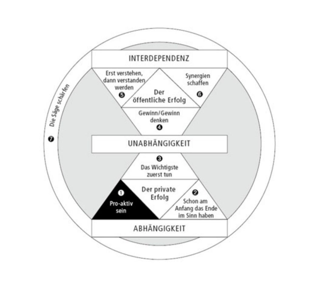 In der Übersicht: Die 7 Wege zur Effektivität