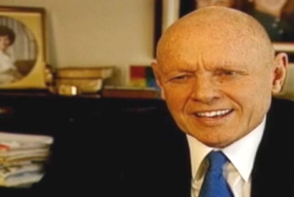 Bild von Stephen Covey (Quelle: CNN-Video)