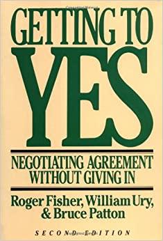 """Englischer Originaltitel von """"Das Harvard-Konzept"""", """"Geting to Yes"""""""