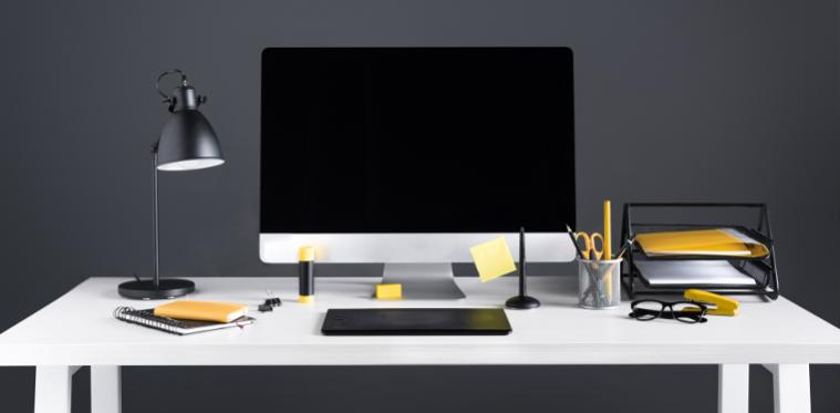des plantes sur votre bureau pour reduire le stress au travail