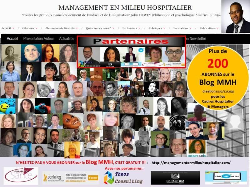 Plus de 200 Abonnés sur le Blog MMH