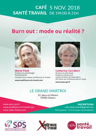 Intervention Marie Pezé et Catherine CORNIBERT 5 Nov 2018 Orléans