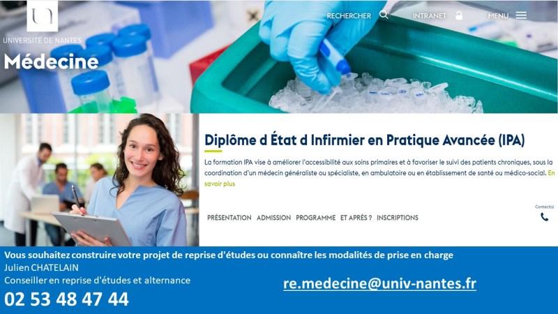 Flyer IPA Université de Nantes 2020