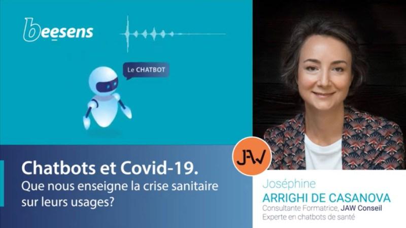 Beesens, Chatbots en santé, Joséphine ARRIGHI de CASANOVA2 Vidéo