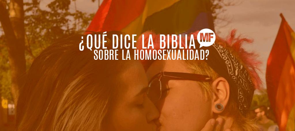 Historias de homosexualismo en la biblia