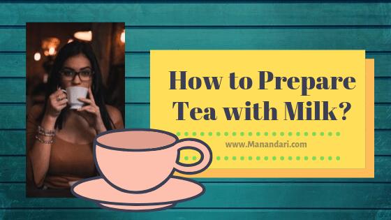 How to prepare tea with milk image