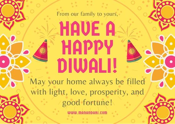 Diwali Greetings Have a Happy Diwali