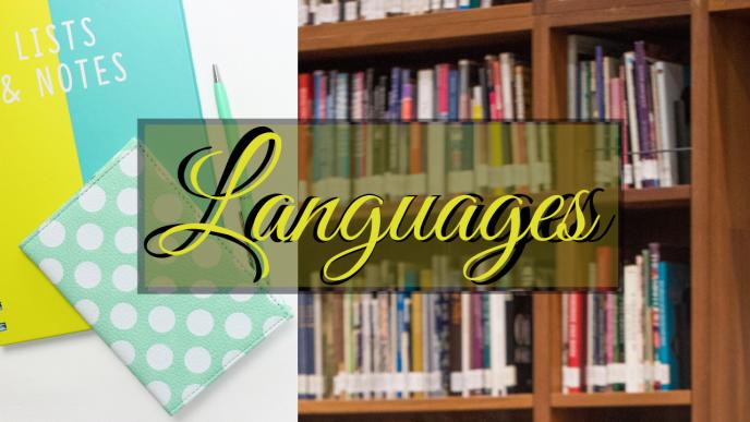 Languages - Telugu - Hindi - English